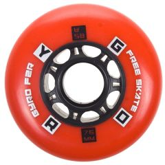 GYRO F2R Red 76mm 4pcs pack