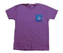 Habitat X Pink Floyd Indigo Dark Side of The Moon Pocket Purple
