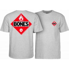 Powell Peralta Flamable Grey T-shirt