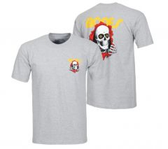 Powell Peralta Youth Ripper T-shirt - Grey