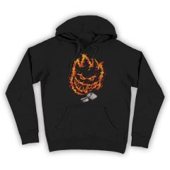 Spitfire Firestarter Black Hoodie Youth
