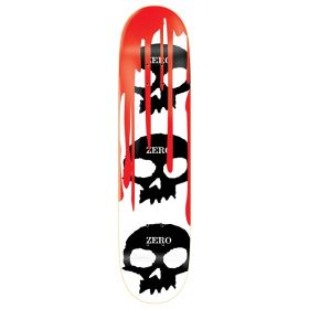 Zero 3 Skull Blood White Cult 7.75 Deck