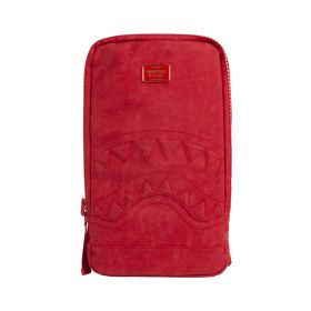Sprayground Shark Smartpack Laptop Bag Red Suede