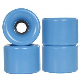 Powerslide Longboard Wheels 70*51 83A blue, 4-Pack