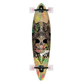 Bustin Pinner 38 Bukhal Graphic Longboard Complete