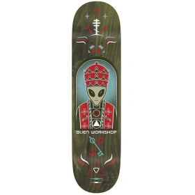 Alien Workshop Skateboard Deck Priest Green 8.5