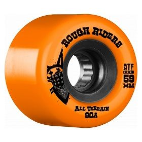 Bones Rough Riders 59mm Orange Wheel 4pk