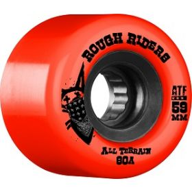 Bones Rough Riders 59mm Red Wheel 4pk