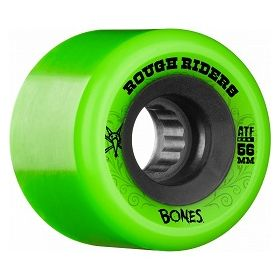 Bones Rough Riders 56mm Green Wheel 4pk