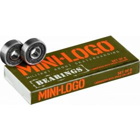 Mini Logo Bearings Series 3 8mm 8pk
