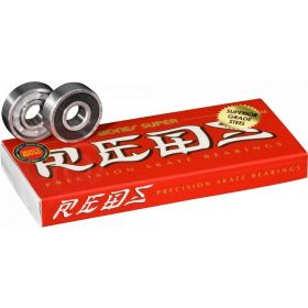 Bones Super REDS Skateboard Bearings 8 pack