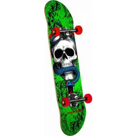 Powell Peralta Skull and Snake One Off Green Complete Skateboard