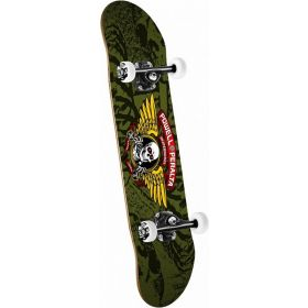 Powell Peralta Winged Ripper Complete Skateboard Olive