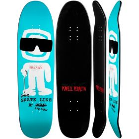 Powell Peralta Skate Like An Old Man Fun Shape Blue Deck