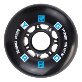 GYRO F2R Black 76mm 4pcs pack