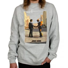 Habitat X Pink Floyd Wish You Were Here Athletic Heather Crew Sweatshirt