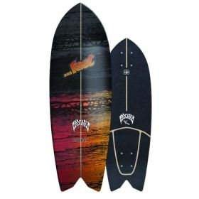 Lost Carver 29 Psycho Killer Surfskate  DECK ONLY