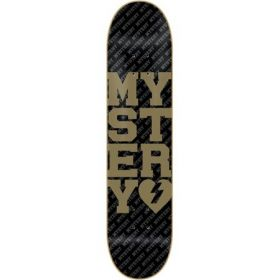 MYSTERY COLLEGIATE GOLD Deck 7.625