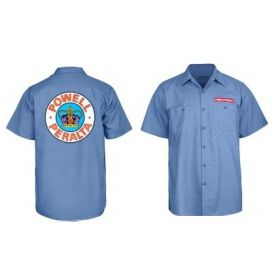 Powell-Peralta - Supreme Work Shirt Blue
