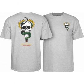 Powell Peralta Mike McGill Skull & Snake T-shirt - Grey