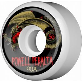 Powell Peralta Oval Dragon Wheel 56mm 90a 4pk