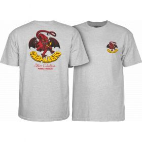 Powell Peralta Steve Caballero Original Dragon T-shirt - Grey