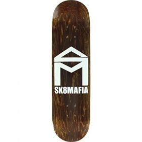 SKATE MAFIA TEAM HOUSE HOGO STAINS DECK 8.60