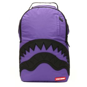 Sprayground 3M Purple Rubber Shark Backpack