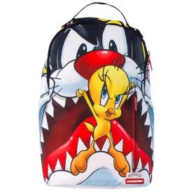 SPRAYGROUND CAT EATS BIRD SHARK