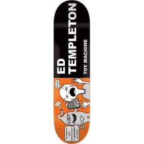 TOY MACHINE TEMPLETON TRACTS DECK 8.5