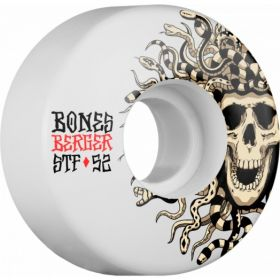 BONES WHEELS STF Pro Berger Medusa 52x29 V3 Skateboard Wheel 83B 4pk