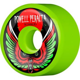 Powell Peralta Bomber Wheel 3 Green 64mm 85a